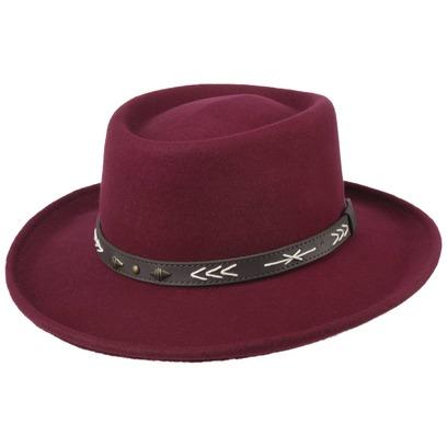 Conner Arizo Gambler Wollfilzhut Hut Filzhut mit UV-Schutz Outdoorhut Westernhut Cowboyhut - Bild 1