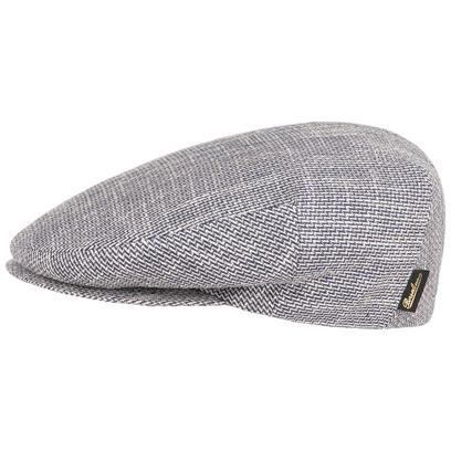 Caramagna Melange Flatcap Schirmmütze Leinenmütze Baumwollmütze Cap Mütze Schiebermütze Borsalino - Bild 1