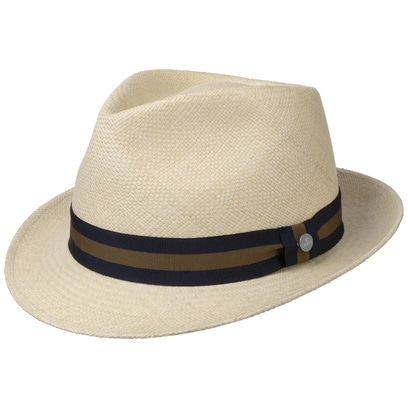 Lierys Sportive Trilby Panamahut Hut Panamatrohhut Strohhut Fedora Strandhut Sommerhut Sonnenhut - Bild 1