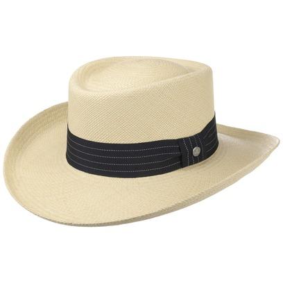 Lierys Gambler Panamahut Hut Strohhut Panamastrohhut Sommerhut Sonnenhut Strandhut - Bild 1