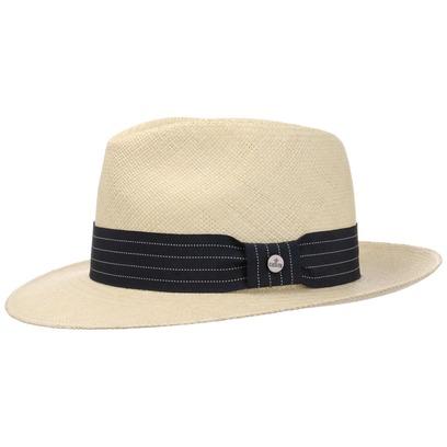 Lierys Striped Ribbon Panamahut Hut Strohhut Panamastrohhut Herrenhut Sommerhut Sonnenhut - Bild 1