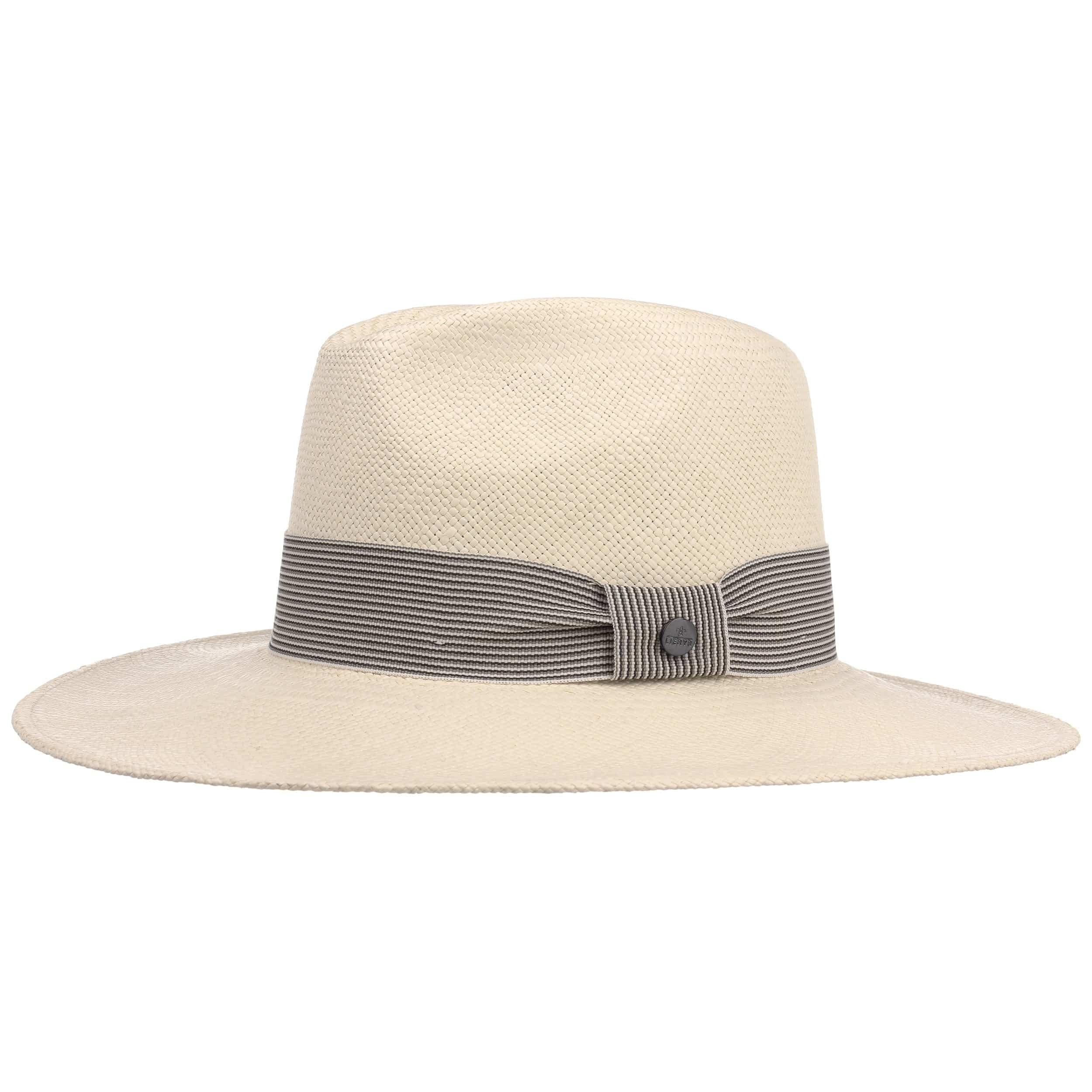 Coloured Trim Panama Hat by Lierys Sun hats Lierys amdPtefE2