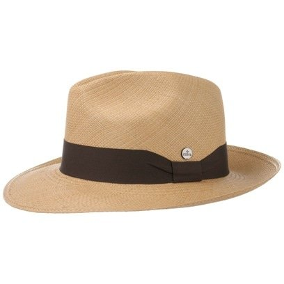 Lierys Classic Fedora Panamahut Hut Strohhut Panamastrohhut Sommerhut Sonnenhut Bogarthut