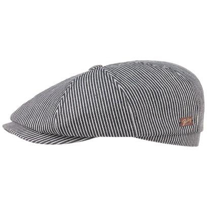 Bailey of Hollywood Stripes Flatcap Schirmmütze Ballonmütze Baumwollmütze Cap Mütze - Bild 1
