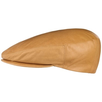Kangol Italian Leather Flatcap Ledercap Schirmmütze Schiebermütze Ledermütze - Bild 1