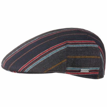 Kangol Tweed Colour Stripes Flatcap Schirmmütze Wollmütze Wollcap Wintercap Schiebermütze Cap - Bild 1