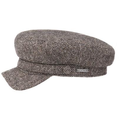 Stetson Herringbone Wool Elbsegler Schildmütze Wollcap Cap Kappe Mütze Schirmmütze Ballonmütze - Bild 1