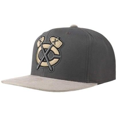 Mitchell & Ness Buttery Blackhawks Cap Snapback Flatbrim Flat Brim Basecap NHL Baseballcap Kappe