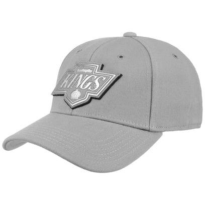 Mitchell & Ness Filter 2.0 Kings Cap Curved Brim NHL Los Angeles Basecap Baseballcap Kappe Snapback