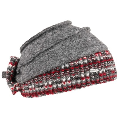 McBURN Jolate Walkmütze mit Strickrand Mütze Damenmütze Wintermütze Strickmütze - Bild 1