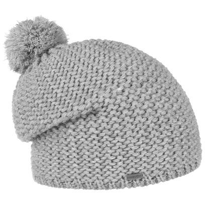 McBURN Reflective Bommelmütze Mütze Strickmütze Wintermütze Beanie mit Bommel Pudelmütze - Bild 1