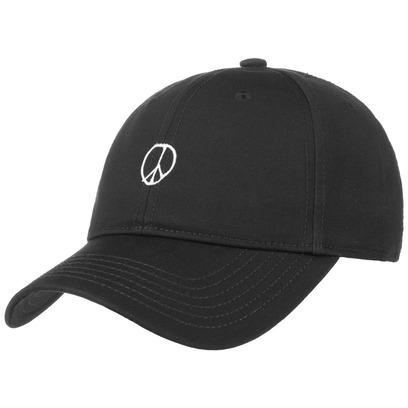 Dedicated Peace Sign Strapback Cap Basecap Baseballcap Kappe Curved Brim - Bild 1