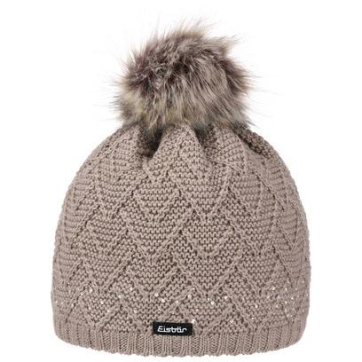 Eisbär Isa Luxury Bommelmütze Mütze Wintermütze Strickmütze Pudelmütze