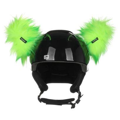 Eisbär Luxury Horns Helmaufkleber Helmsticker Helmdeko Sticker für Skihelm - Bild 1