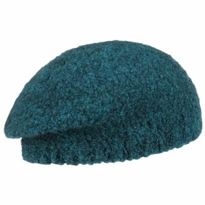 bedacht Bratz Alpaka Baskenmütze Mütze Wollbaske Winterbaske Damenmütze Damenbaske Baske