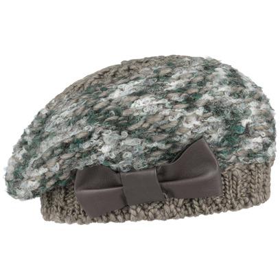 bedacht Ciclamino Alpaka Strickbaske Baskenmütze Mütze Wintermütze Damenmütze Damenbaske