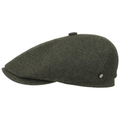 Stetson Brooklin Tyrolean Flatcap Schirmmütze Wollcap Wintercap Schiebermütze Mütze Cap Kappe - Bild 1