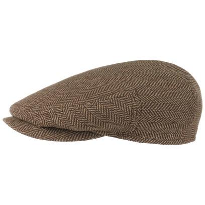 Stetson Bandera Cotton Silk Flatcap Schirmmütze Seidenmütze Baumwollmütze Schiebermütze Cap Mütze - Bild 1