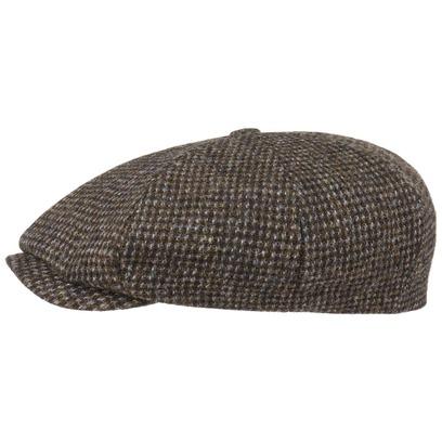Stetson Many Harris Tweed Schirmmütze Flatcap Achtteilig 8 Panel Ballonmütze Wollcap Mütze - Bild 1