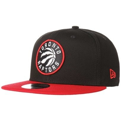 New Era 9Fifty Black Base Raptors Cap NBA Toronto Kappe Flat Brim Snapback Basecap Baseballcap
