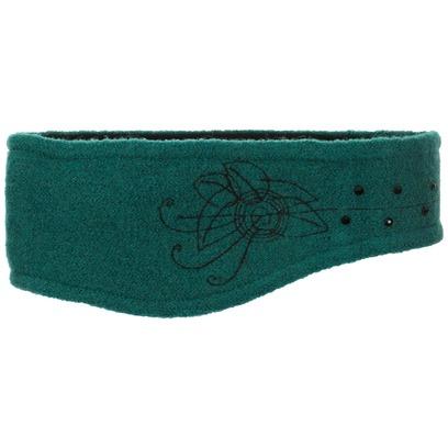 Lierys Walkstirnband mit Strass Stirnband Headband Stirnwärmer Ohrenschutz Ohrenwärmer