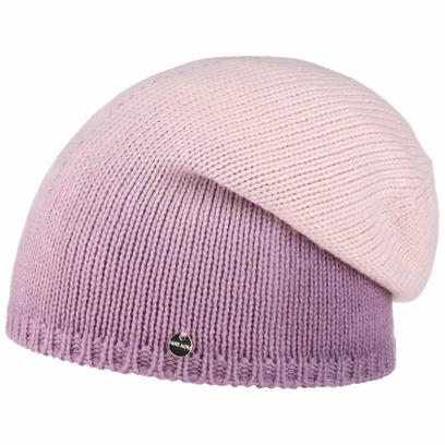 DipDye Long Beanie mit Strass Strickmütze Wintermütze Mütze Oversize-Mütze - Bild 1