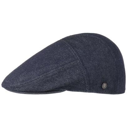 Stetson Maryland Denim Flatcap Schirmmütze Mütze Jeanscap Denimcap Schiebermütze Baumwollcap - Bild 1
