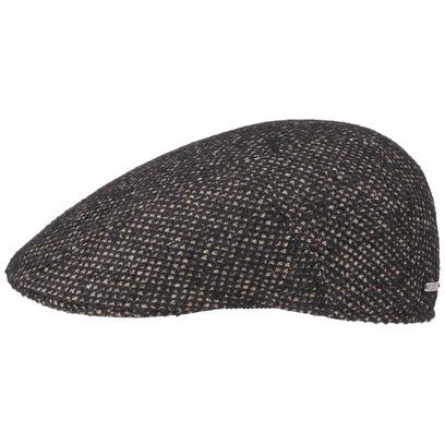Stetson Cerruti Wolle Seide Flatcap Schirmmütze Mütze Seidenmütze Wollcap Schiebermütze - Bild 1