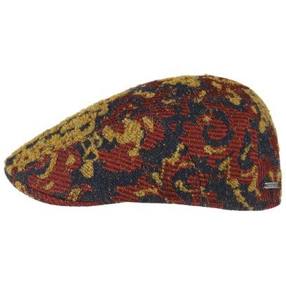 Stetson Ornament Flatcap Schirmmütze Ivy Cap Mütze Wintermütze Schiebermütze