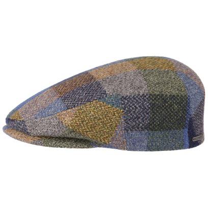 Stetson Kent Patchwork Flatcap Schirmmütze Mütze Wintermütze Schiebermütze Cap - Bild 1