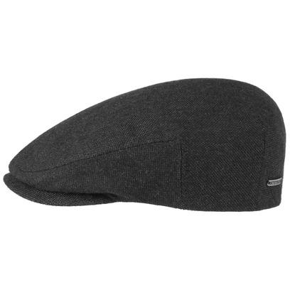 Stetson Classic Flatcap mit Kaschmir Schiebermütze Schirmmütze Wintermütze Wollcap - Bild 1