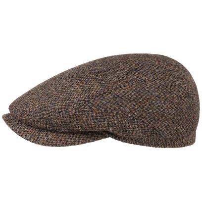Stetson Harris Tweed Flatcap Schirmmütze Mütze Schiebermütze Ivy Cap Wollcap Wintermütze
