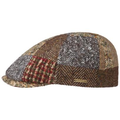 Stetson Patchwork Wool Flatcap Schirmmütze Wollcap Wintermütze Mütze Cap Schiebermütze - Bild 1