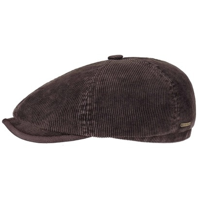 Stetson 6-Panel Corduroy Flatcap Schirmmütze Cordmütze Cordcap Ballonmütze Baumwollcap Mütze - Bild 1