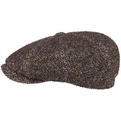 Stetson Hatteras Schurwolle Flatcap Schirmmütze Wollcap Ballonmütze Cap Mütze Wintermütze - Bild 1