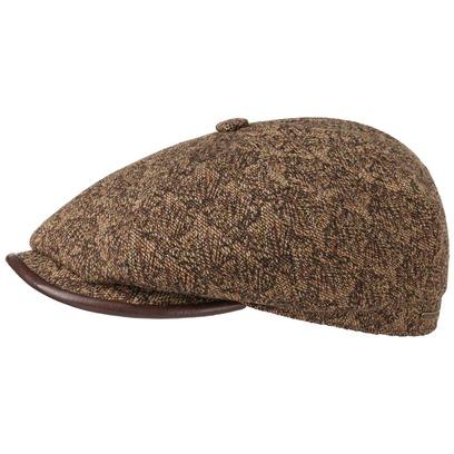 Stetson Hatteras Upholstery Flatcap Schirmmütze Ballonmütze Wintermütze Wollcap Cap Mütze - Bild 1