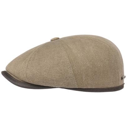 Stetson Hatteras Canvas Piping Flatcap Schirmmütze Ballonmütze Cap Mütze Baumwollmütze - Bild 1