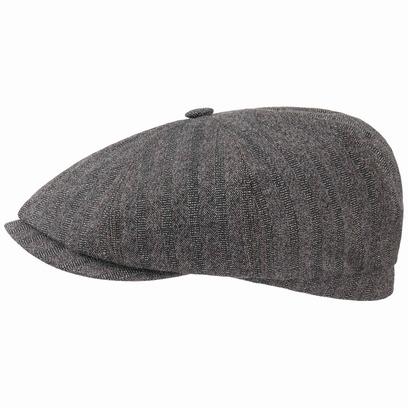 Stetson Hatteras Cotton Wool Flatcap Schirmmütze Cap Wintermütze Baumwollmütze Wollcap - Bild 1