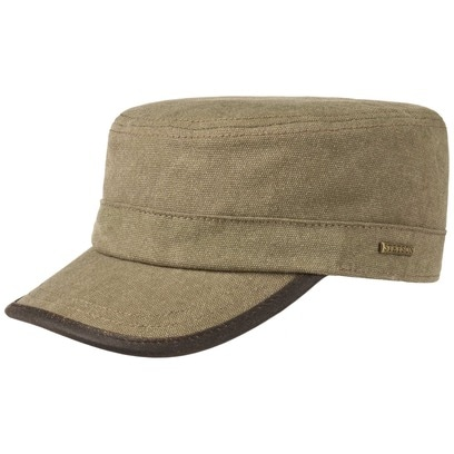 Stetson Canvas Army Cap Fleecefutter Armycap Kappe Urban Wintercap
