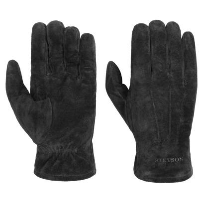 Stetson Basic Pigskin Lederhandschuhe Handschuhe Herrenhandschuhe Fingerhandschuhe - Bild 1