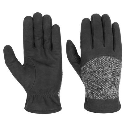 Stetson Lederhandschuhe mit Schurwolle Handschuhe Winterhandschuhe Fingerhandschuhe - Bild 1