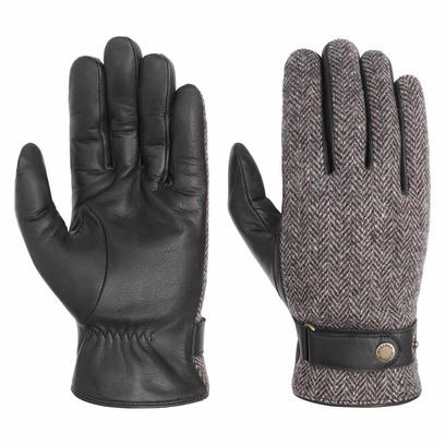 Stetson Woolrich Lederhandschuhe Handschuhe Herrenhandschuhe Fingerhandschuhe - Bild 1