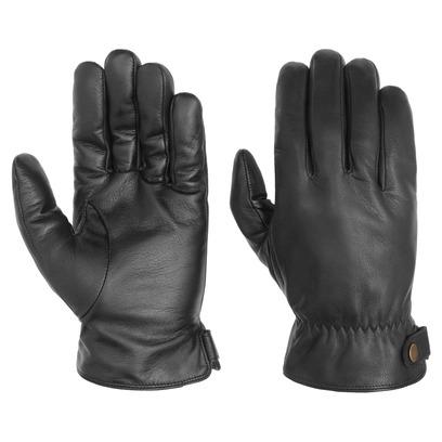 Stetson Conductive Lederhandschuhe Handschuhe Herrenhandschuhe Fingerhandschuhe - Bild 1
