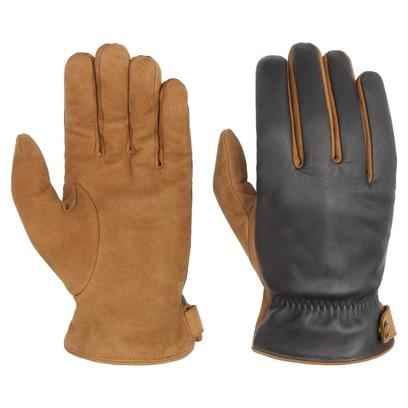 Stetson Nubuk-Nappa Lederhandschuhe Handschuhe Herrenhandschuhe Fingerhandschuhe Nubukleder