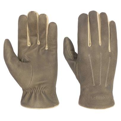 Stetson Lambskin Lederhandschuhe Handschuhe Fingerhandschuhe Herrenhandschuhe - Bild 1