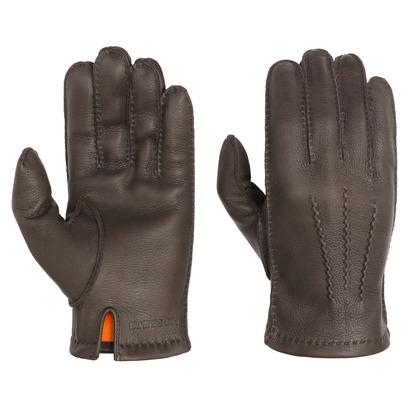 Stetson Deer Nappa Lederhandschuhe Handschuhe Fingerhandschuhe Herrenhandschuhe Hirschleder - Bild 1