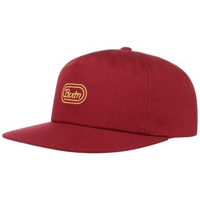 Brixton Joel Snapback Cap Flat Brim Flatbrim Basecap Baseballcap Kappe Käppi - Bild 1