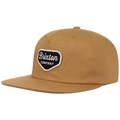 Brixton Novato Snapback Cap Flat Brim Flatbrim Basecap Baseballcap Kappe Käppi - Bild 1