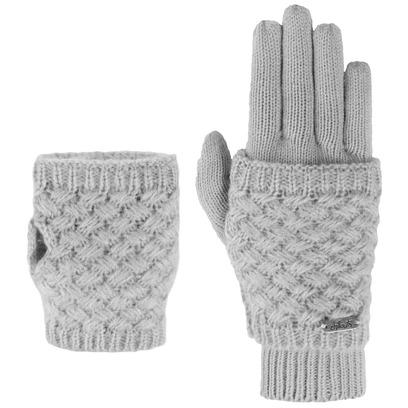 Chillouts Elja Handschuhe Fingerlose Damenhandschuhe Strickhandschuhe - Bild 1