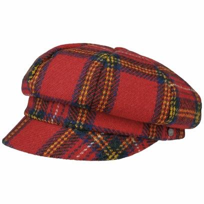 Lierys Harris Tweed Schottenkaro Ballonmütze Mütze Cap Wollcap Schirmmütze Schildmütze Newsboy - Bild 1